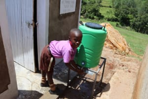 The Water Project: Bahati ADC Primary School -  Pupils Washing
