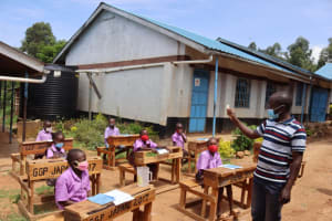 The Water Project: Bahati ADC Primary School -  Training Session