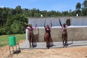 The Water Project: Bahati ADC Primary School -  Celebrating Vip Latrines