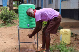 The Water Project: Bahati ADC Primary School -  Demonstrating On Handwashing