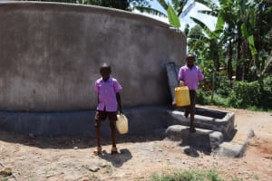 The Water Project: Bahati ADC Primary School -  Water From The Tank
