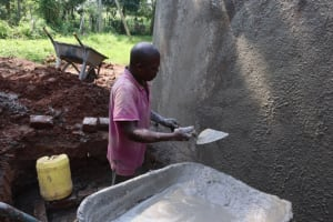 The Water Project: Itabalia Primary School -  Outside Rough Cast
