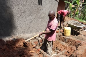 The Water Project: Itabalia Primary School -  Constructing Fetching Area