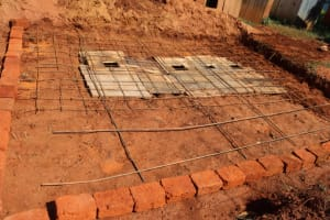 The Water Project: Itabalia Primary School -  Foundation Setting