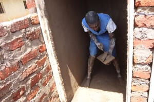 The Water Project: Itabalia Primary School -  Inside Plastering Being Done