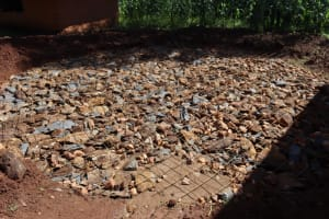 The Water Project: Itabalia Primary School -  Foundation Rock And Wire