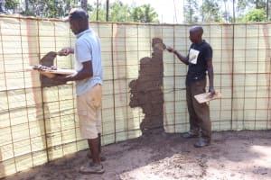 The Water Project: Itabalia Primary School -  Artsans Do Inside Plastering