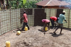 The Water Project: Itabalia Primary School -  Inside Plastering First Coat