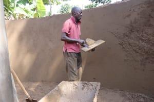 The Water Project: Itabalia Primary School -  Artsan Do Inside Plastering