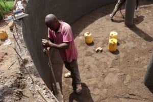 The Water Project: Itabalia Primary School -  Floor Casting
