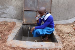 The Water Project: Itabalia Primary School -  Faith Quenches Her Thirst