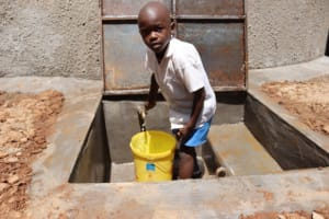 The Water Project: Itabalia Primary School -  Fetching Water