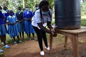 The Water Project: Itabalia Primary School -  Handwashing Demonstration