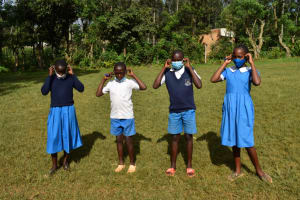 The Water Project: Itabalia Primary School -  Leaders Pose For A Photo