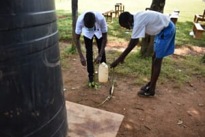 The Water Project: Itabalia Primary School -  Leaky Tin Tap For Handwashing