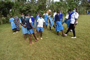 The Water Project: Itabalia Primary School -  Participants New Way Of Greeting