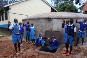 The Water Project: Itabalia Primary School -  Pupils Water Point