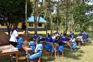 The Water Project: Itabalia Primary School -  Session On Tank Maintenance