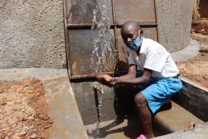 The Water Project: Itabalia Primary School -  Splashing Water