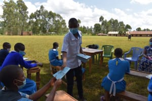 The Water Project: Itabalia Primary School -  Training Materials Distribution
