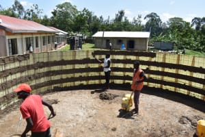 The Water Project: Salvation Army Matioli Secondary School -  Inside Plastering