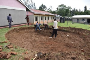 The Water Project: Salvation Army Matioli Secondary School -  Excavation Work