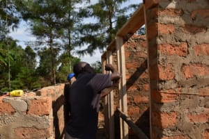 The Water Project: Salvation Army Matioli Secondary School -  Door Frames Fixing