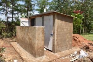 The Water Project: Salvation Army Matioli Secondary School -  Vip Latrine