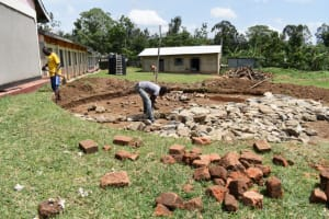 The Water Project: Salvation Army Matioli Secondary School -  Foundation Rock
