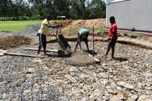 The Water Project: Salvation Army Matioli Secondary School -  Starting