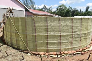 The Water Project: Salvation Army Matioli Secondary School -  Sacks On Wall Frame