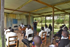 The Water Project: Salvation Army Matioli Secondary School -  Amos Leading A Session