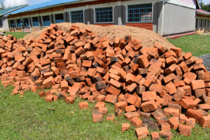 The Water Project: Salvation Army Matioli Secondary School -  Construction Material Bricks