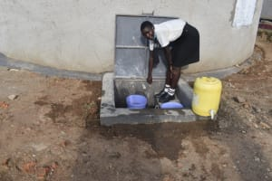 The Water Project: Salvation Army Matioli Secondary School -  Students Fetching Water