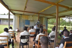 The Water Project: Salvation Army Matioli Secondary School -  Wilson Leading The Session