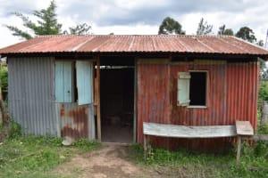 The Water Project: Friends Ikoli Primary School -  Kitchen Outside
