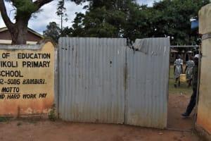 The Water Project: Friends Ikoli Primary School -  Schools Gate