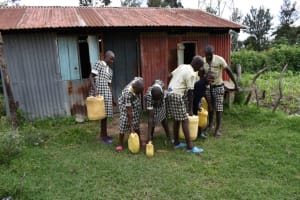 The Water Project: Friends Ikoli Primary School -  Water Storage