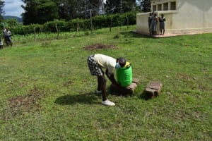 The Water Project: Friends Ikoli Primary School -  Handwashing Station At The Schools Grounds