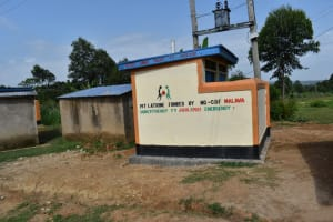 The Water Project: Mutoto Primary School -  Boys Pit Latrines