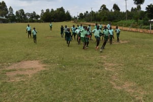 The Water Project: Mutoto Primary School -  Boys Playing Football