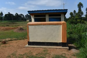 The Water Project: Mutoto Primary School -  Girls Pit Latrines