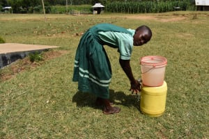 The Water Project: Mutoto Primary School -  Hand Washing Practice