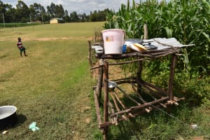 The Water Project: Mutoto Primary School -  Home Made Dishrack