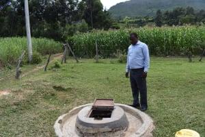 The Water Project: Mutoto Primary School -  Joakim Omendo Headteacher