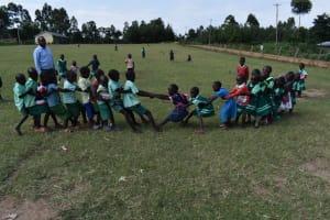 The Water Project: Mutoto Primary School -  Nursery School Children