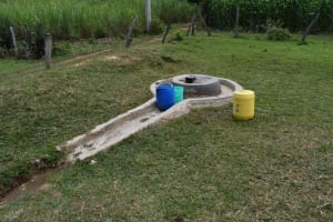 The Water Project: Mutoto Primary School -  The School Dug Well