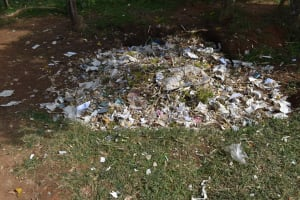 The Water Project: Mutoto Primary School -  Garbage Pit