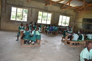 The Water Project: Mutoto Primary School -  Lesson In The Classroom