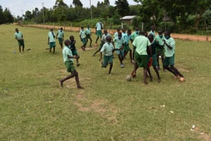 The Water Project: Mutoto Primary School -  Playing Football